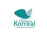 Sitio web Colchones Korreal