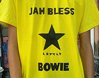 Camisa Jah Bless Bowie