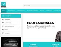Pagina Portal de Empleos