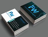 Cartão de visita FW