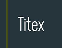 Titex Typeface