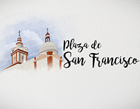 Plaza de San Francisco / Digital Painting / Animación
