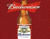 Cartel publicitario de Budweiser