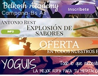 Banners. Clientes varios.
