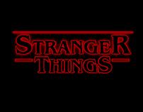 Recriando o logo de Stranger Things