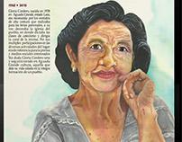 Doña Gloria / técnica de Acuarela