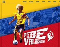 Pibe Valderrama Home Web