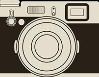 Vetorização e desenho - Câmera Fugi