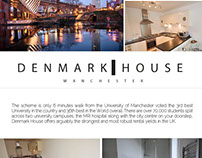 Logotype for Denmark House, Manchester
