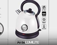 """Lumilite"" Pava eletrica - Packaging"
