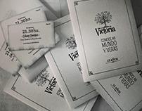 Diseño de invitaciones - 15 años - Victoria