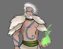 Khubilgan/ Bill Vander - Character Design