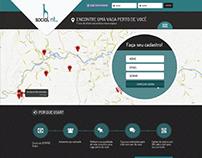 social nt - rede social para empregos geolocalizados.