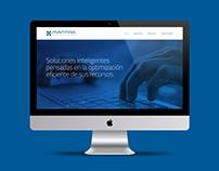 Mantra Consultores - Diseño Web (UI)