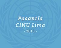 Pasantía CINU Lima
