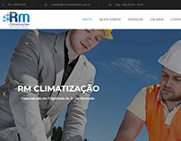 Site da Empresa RM Climatizações