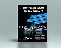 Competição de natação - FLYER
