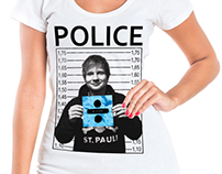 Ed Sheeran - Estampas e Camisas