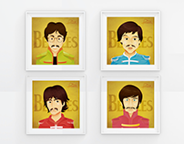 The beatles - Ilustraciones