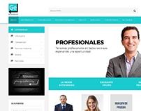 Give me enter Portal de empleo y CV