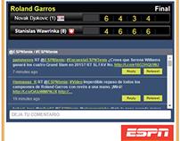 ESPN Live Tennis