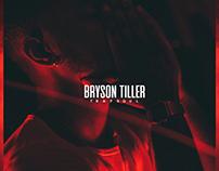 "Alternative Cover Album ""Trapsoul"" by Bryson Tiller"