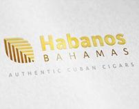Habanos Bahamas logo design