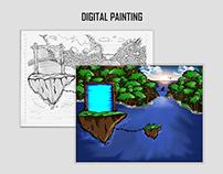 Digital Painting Image Dream