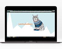 "Website ""Sandra Dieckmann"" | Responsive design"
