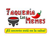 Logo Taquería Los Memes