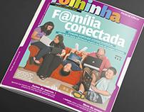 Diagramação, Ilustração para a Folha de São Paulo