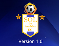 App móvil Sol de américa F.C