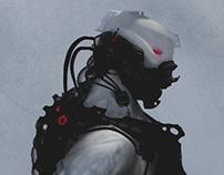 Cyberpunk Concept Bot II