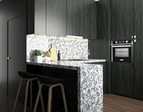 Kitchen with SketchUp and V-Ray