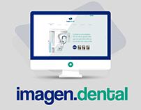 DIseño Onepage Responsive Imagen Dental