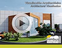 ArchViz :: Animacion Conjunto Industrial Los Tacarigua