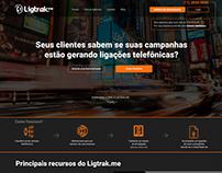 Site Institucional - Ligtrak.me