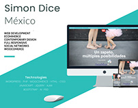 Simon Dice - Ecommerce