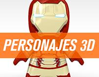 Modelado y Texturizado de Personajes