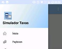 App Simulador Taxas