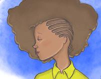 Ilustração: Afro Love