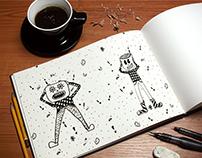 Quick & random illustrations