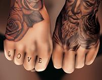 Estampas: Projeto Tattoed Woman