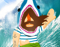 Cast Away Surfer