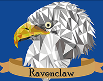 Ravenclaw Low Poly