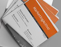 Marketing Activo, Diseño editorial, diseño web.