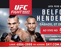 SKY - Divulgação luta UFC