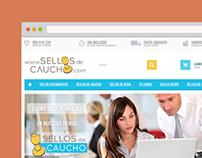 E-commerce for Stampa Sellos de Caucho