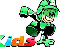 "mascotas para varias empresas en versión ""Kids"""