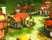 Medieval Village - Low Poly Model Pack